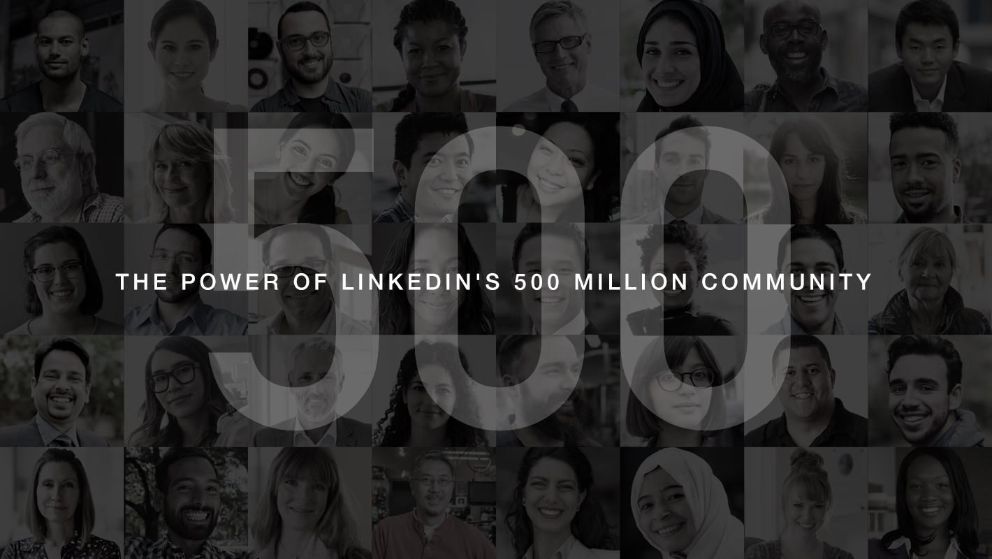 linkedin reaches 500 million