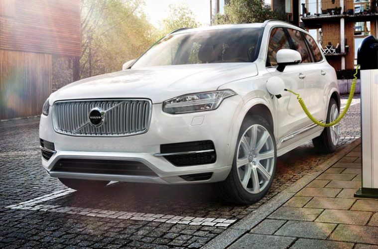 volvo electric cars