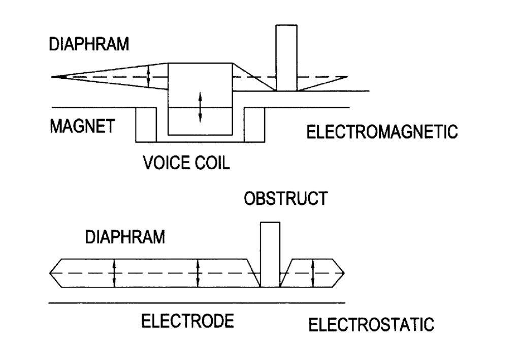 disney enterprise flexible speakers patent