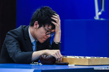 alphago defeats worlds number one