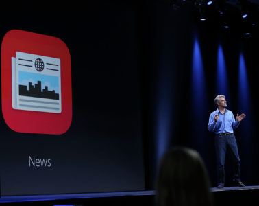 apple news editor