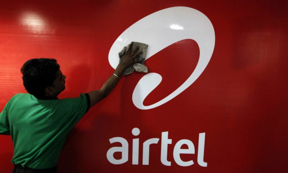 bharti airtel ratings negative