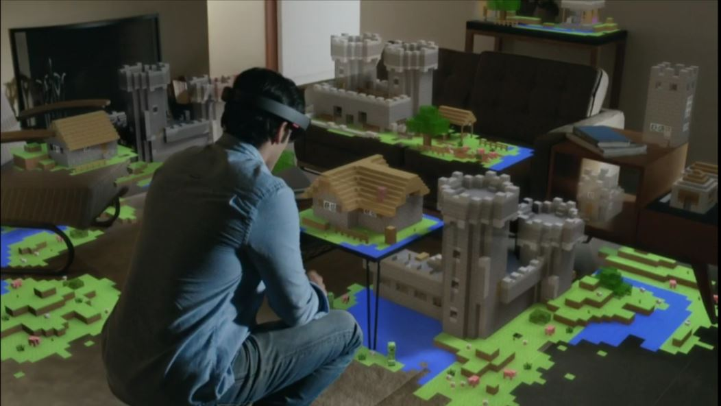 microsoft develops three dimensional user input technology