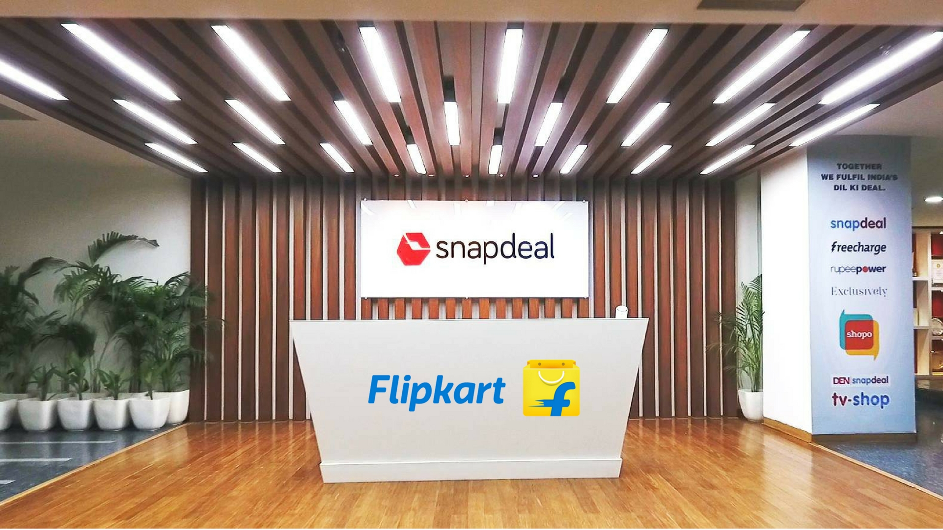 c9001f1d6dd Snapdeal Agrees to Flipkart s Revised Offer of  950 Million But ...