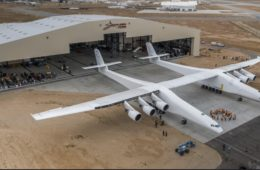 Paul Allen World's Largest Airplane