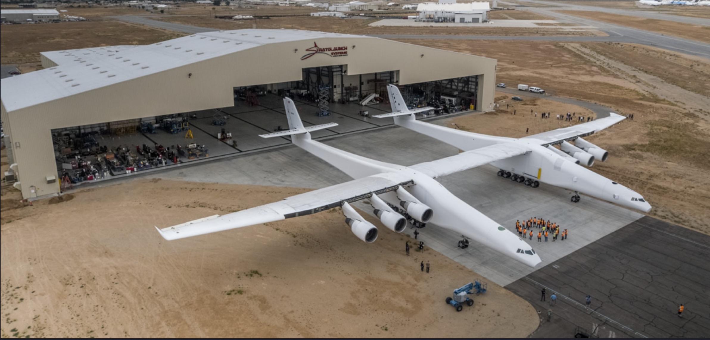 Paul Allen World's Largest Airplane