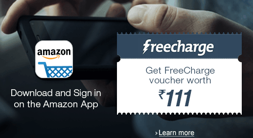 amazon offer freecharge