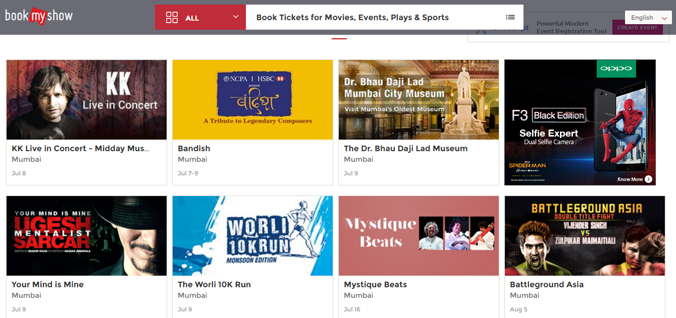 bookmyshow acquires buurp