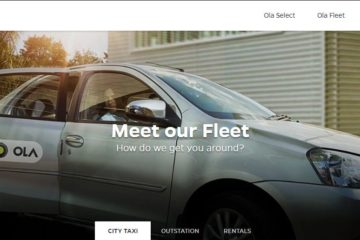 ola invests ola fleet
