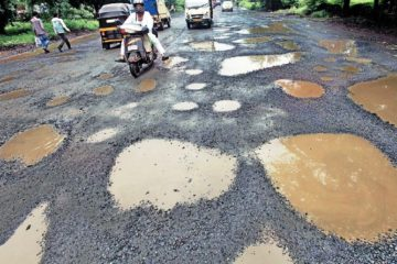 pothole issues nitin gadkari