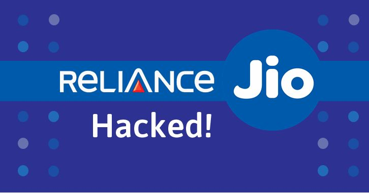 reliance jio hacked