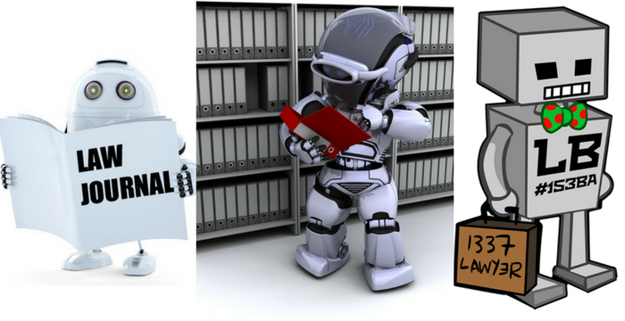 robots in law: robotic lawyers