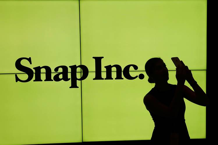 snap shares drop