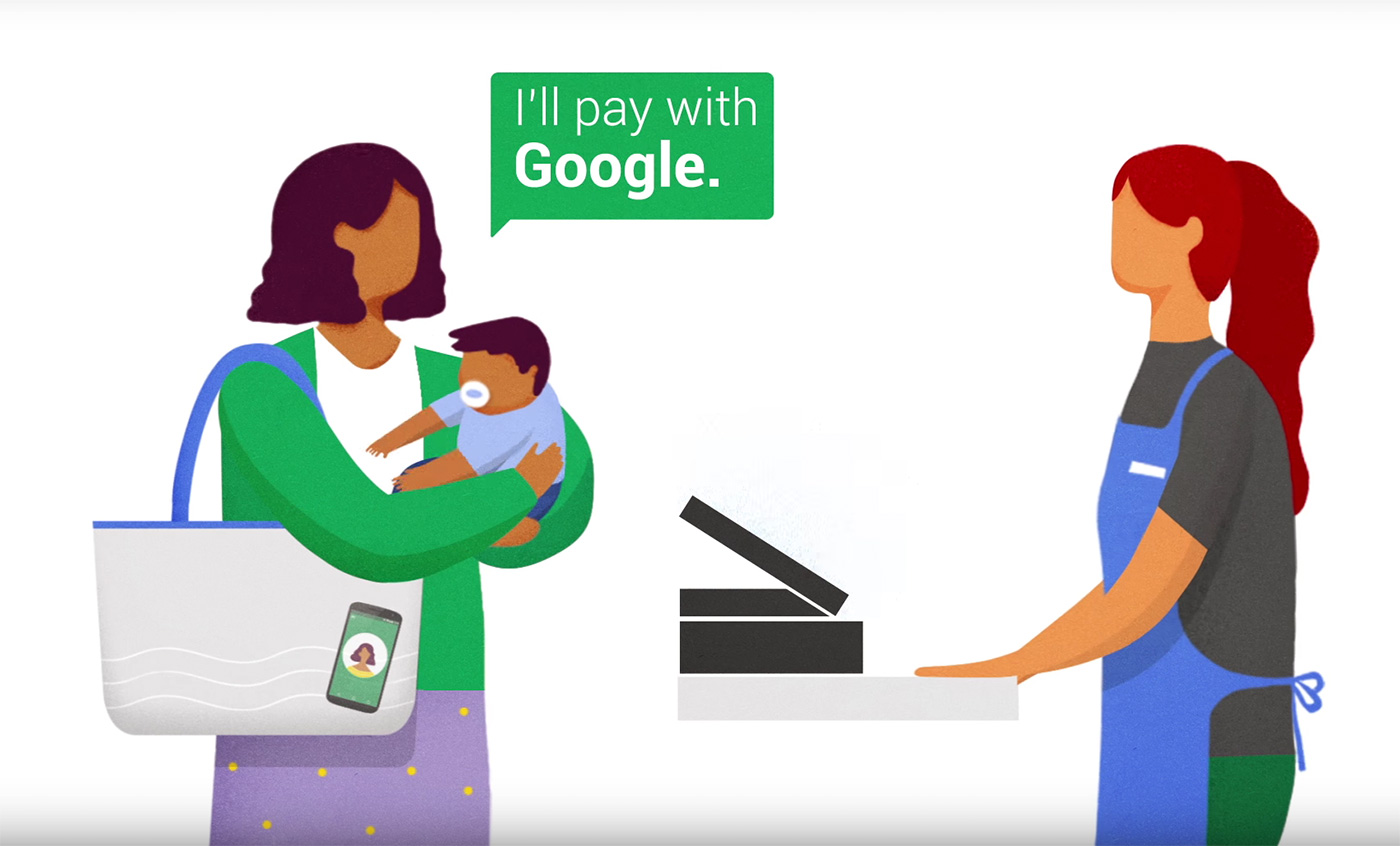 google wallet hands-free payment