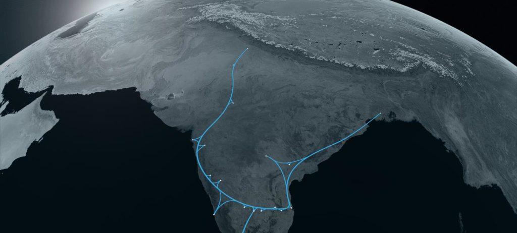 road to hyperloop: hyperloop one india project