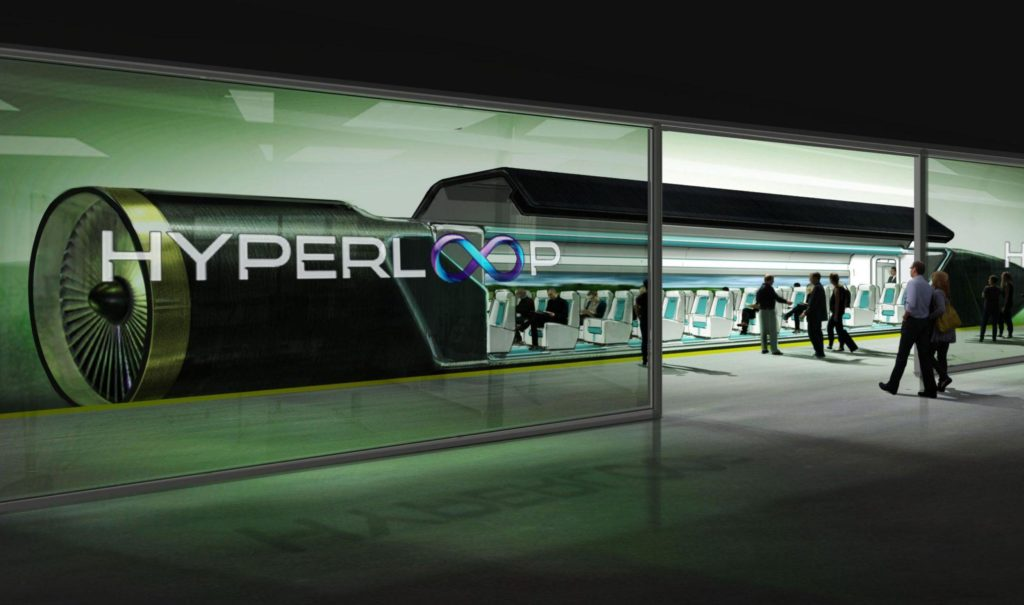 road to hyperloop feature