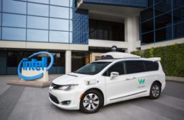 Intel waymo self driving cars