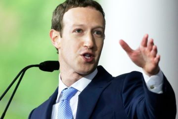 Mark Zuckerberg sell shares