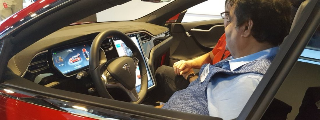 tesla in talks with india