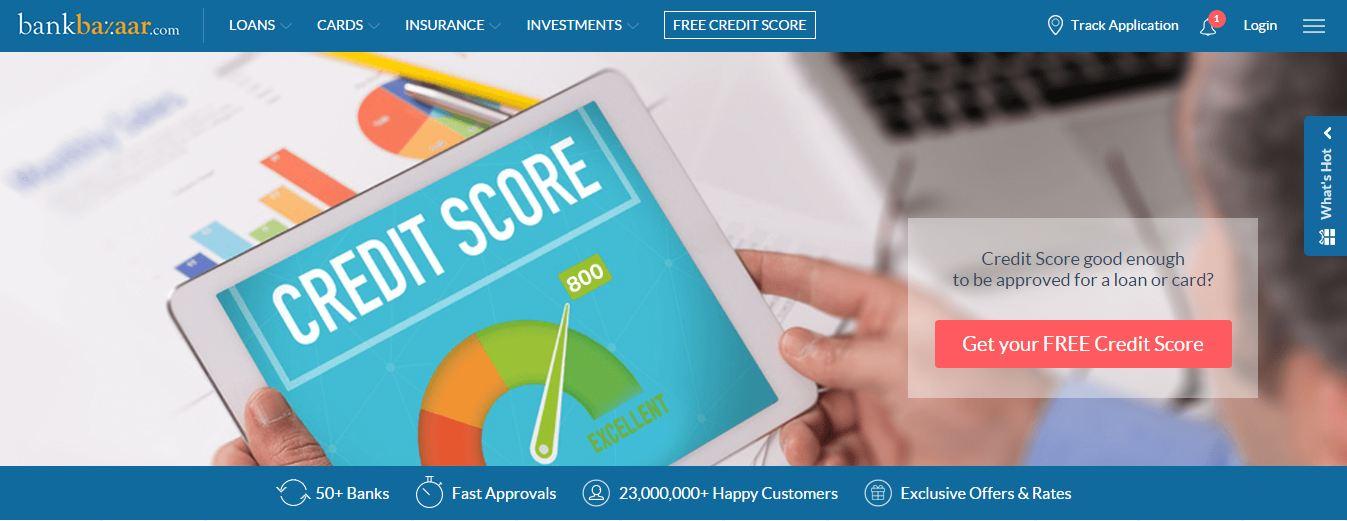 BankBazaar Raises Funding