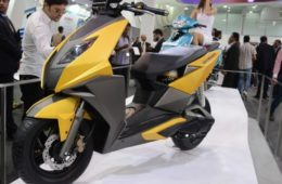 Electric & Hybrid Scooters To Be Showcased At Auto Expo 2018 TVS Electric Scooter