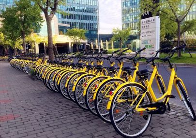 Ofo Dockless Bicycle Sharing Platform Forays Into India