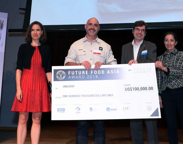 Future Food Asia Award 2018
