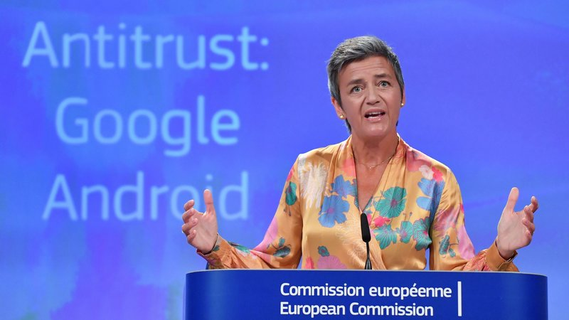 Trump slams EU over $5 billion fine on Google