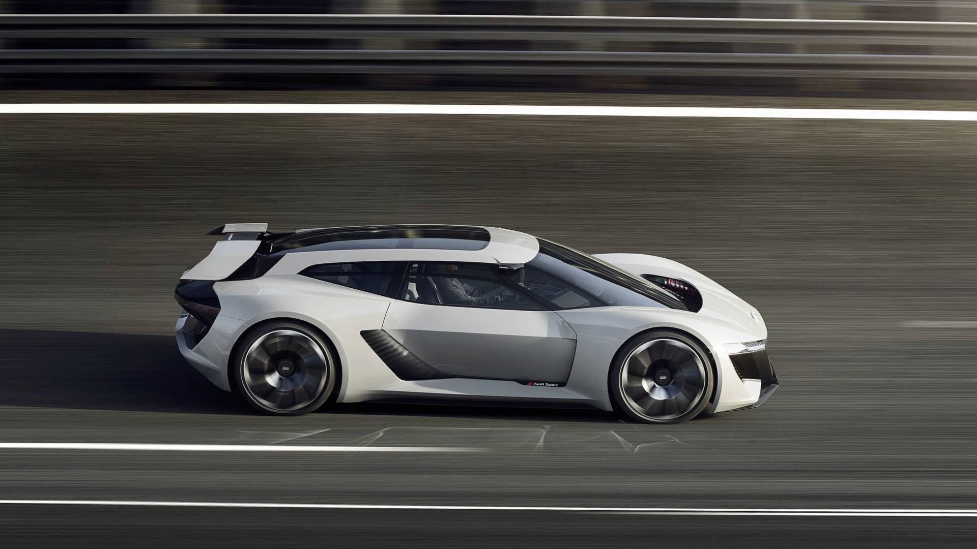 Audi PB18 E-tron concept race