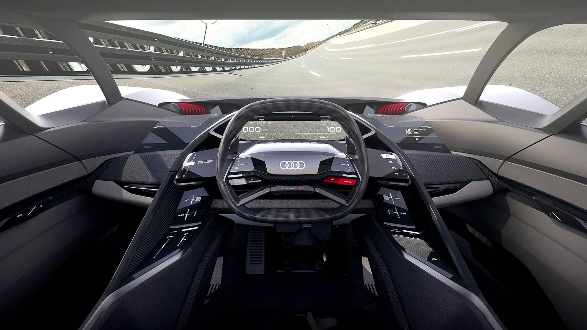 Audi PB18 E-tron concept single seater