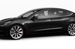 Model 3 Obsidian black