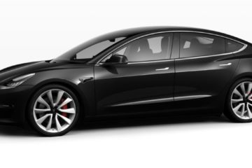 Model 3 Obsidian black