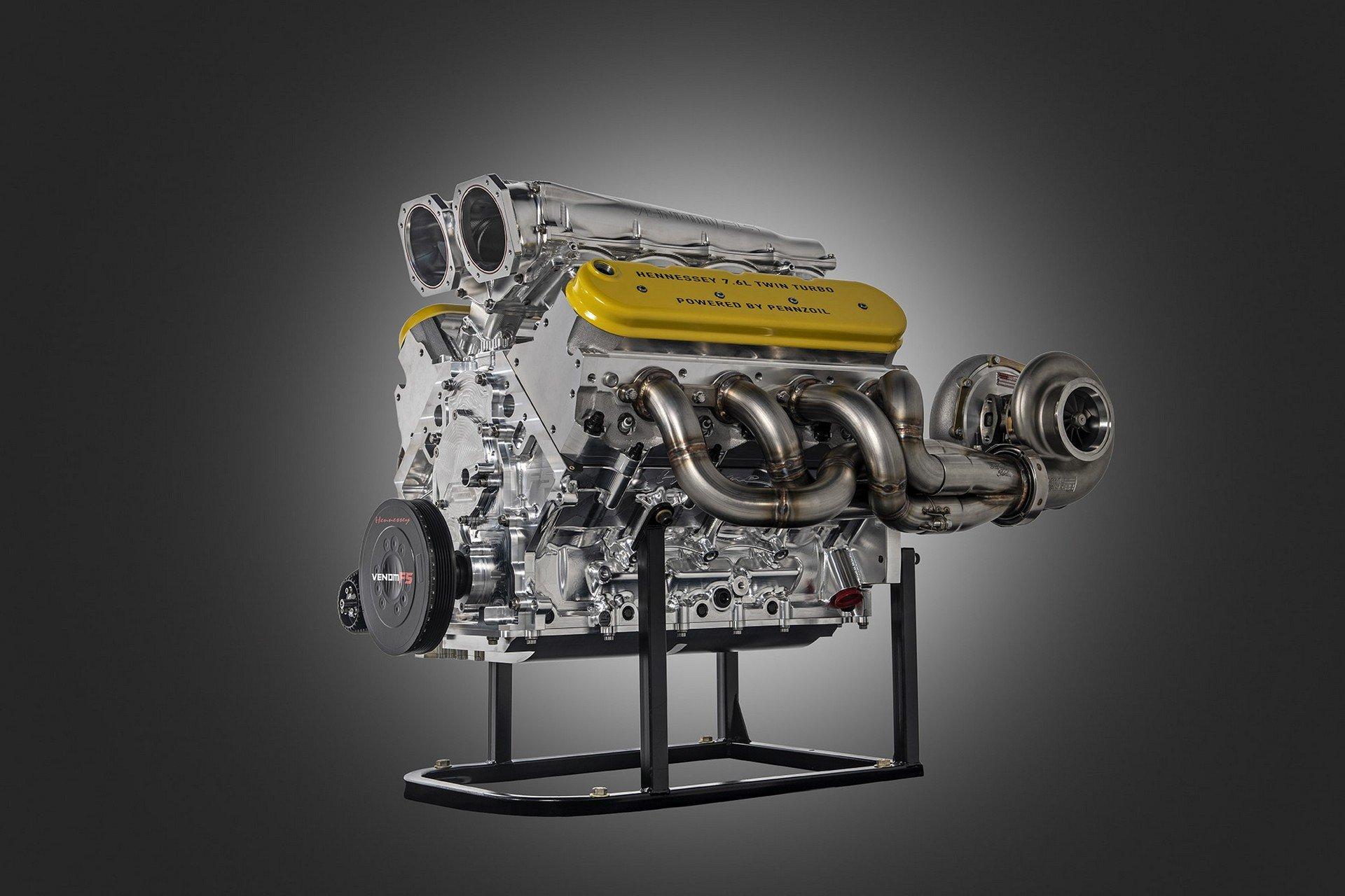 Hennessy Venom F5 engine