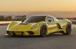 Hennessy Venom F5 top speed