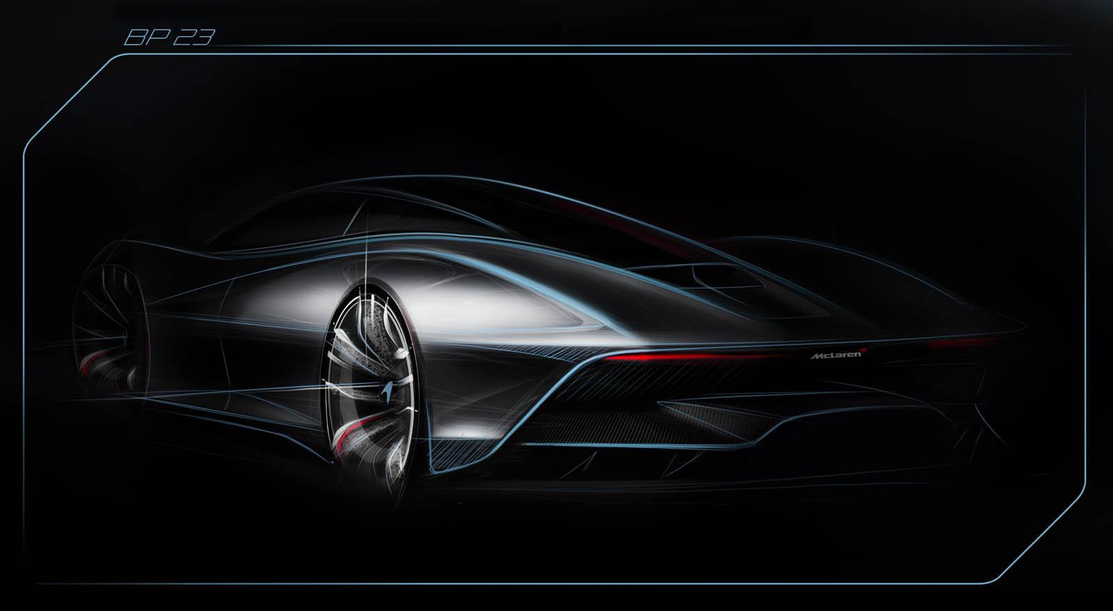 McLaren Speedtail teaser