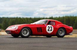 Most expensive car Ferrari GTO