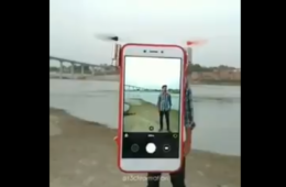 Flying phone cover