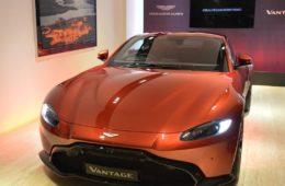 2019 Aston Martin Vantage India launch