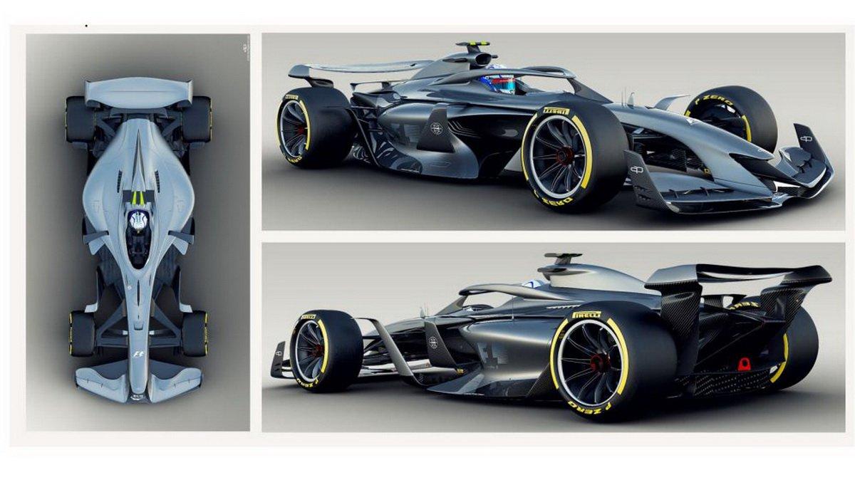 2021 Formula 1 car concept