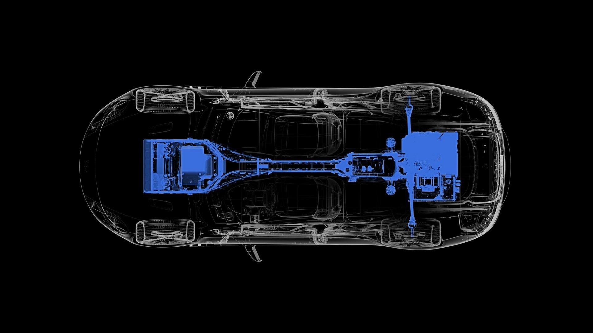 Aston martin Rapide E powertrain