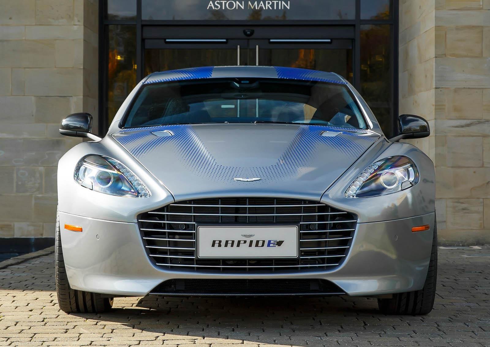 Aston martin Rapide E top speed
