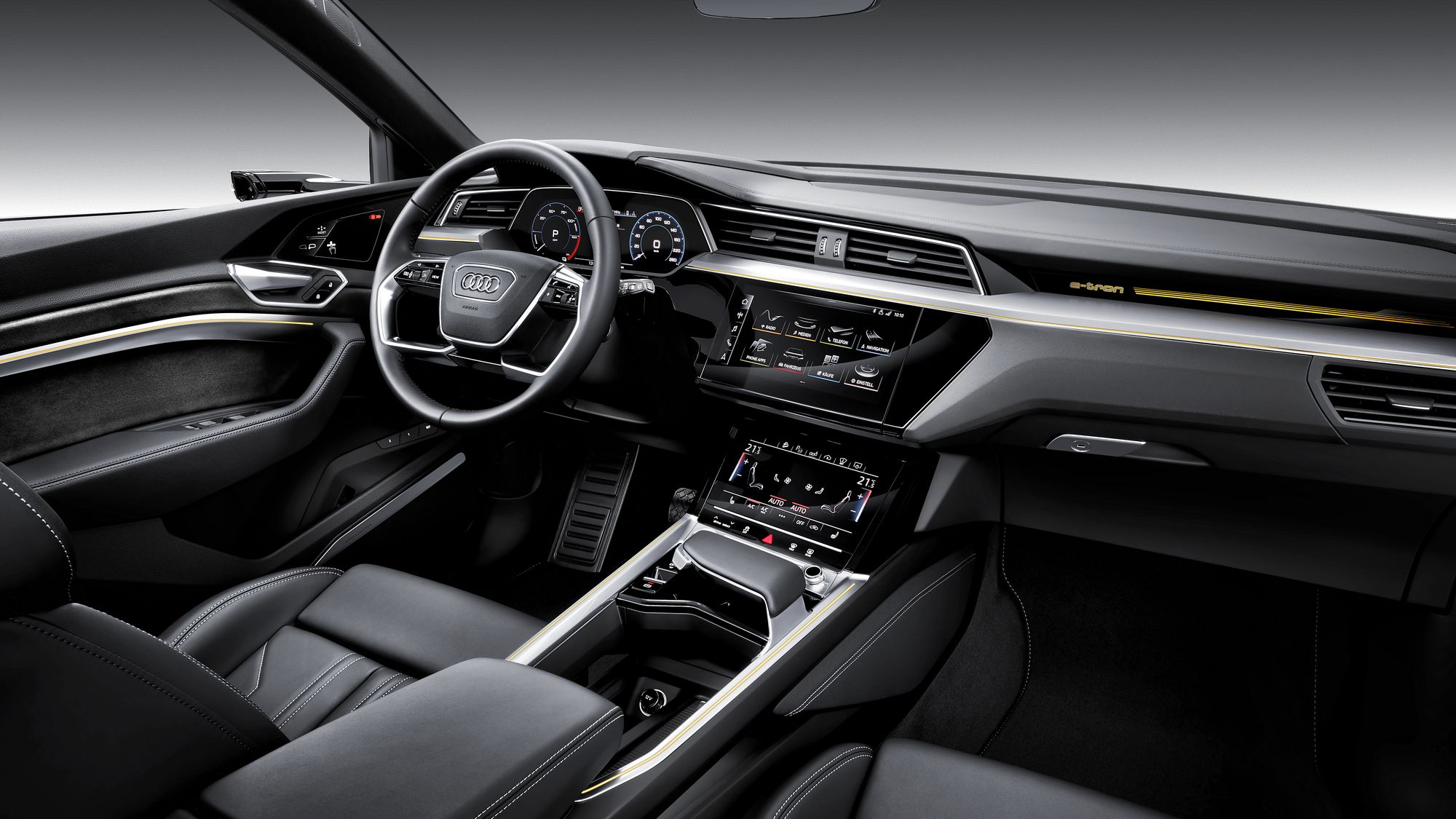 Audi E-tron suv interior