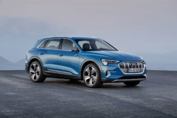 Audi E-tron suv launched