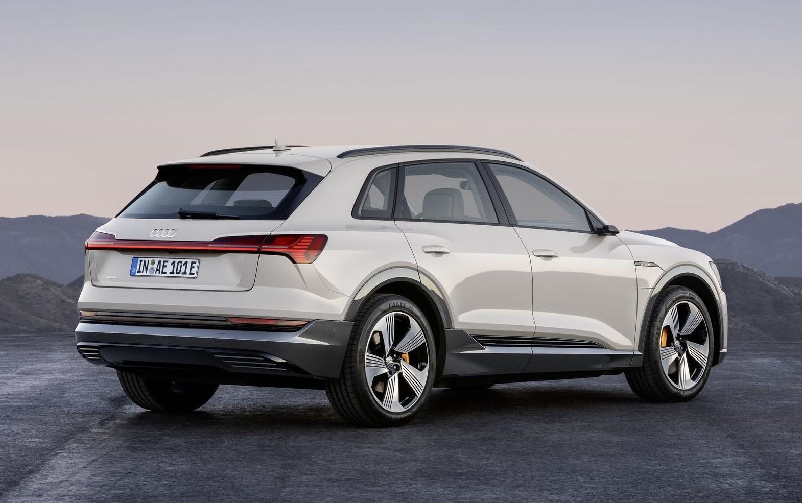 Audi E-tron suv range