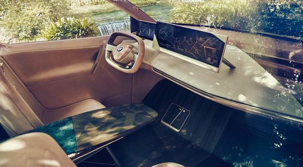 BMW iNext crossover interior