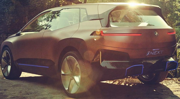 BMW iNext crossover rear