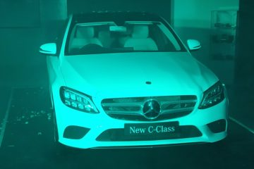 Emerald motors ahmedabad c-class launch