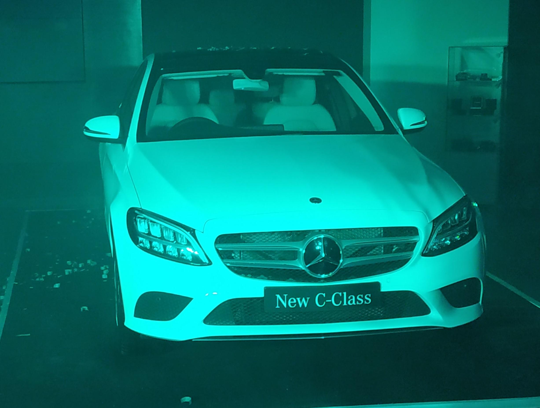 Emerald motors ahmedabad c-class launch