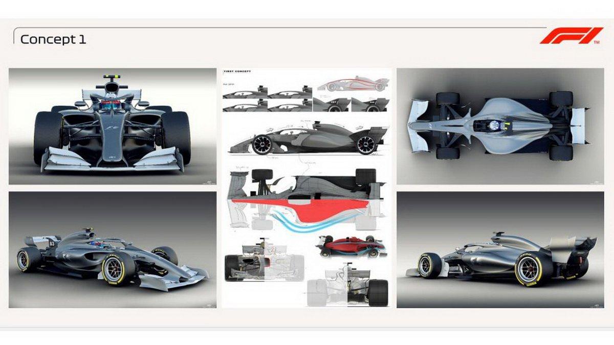 F1 car concept 2021