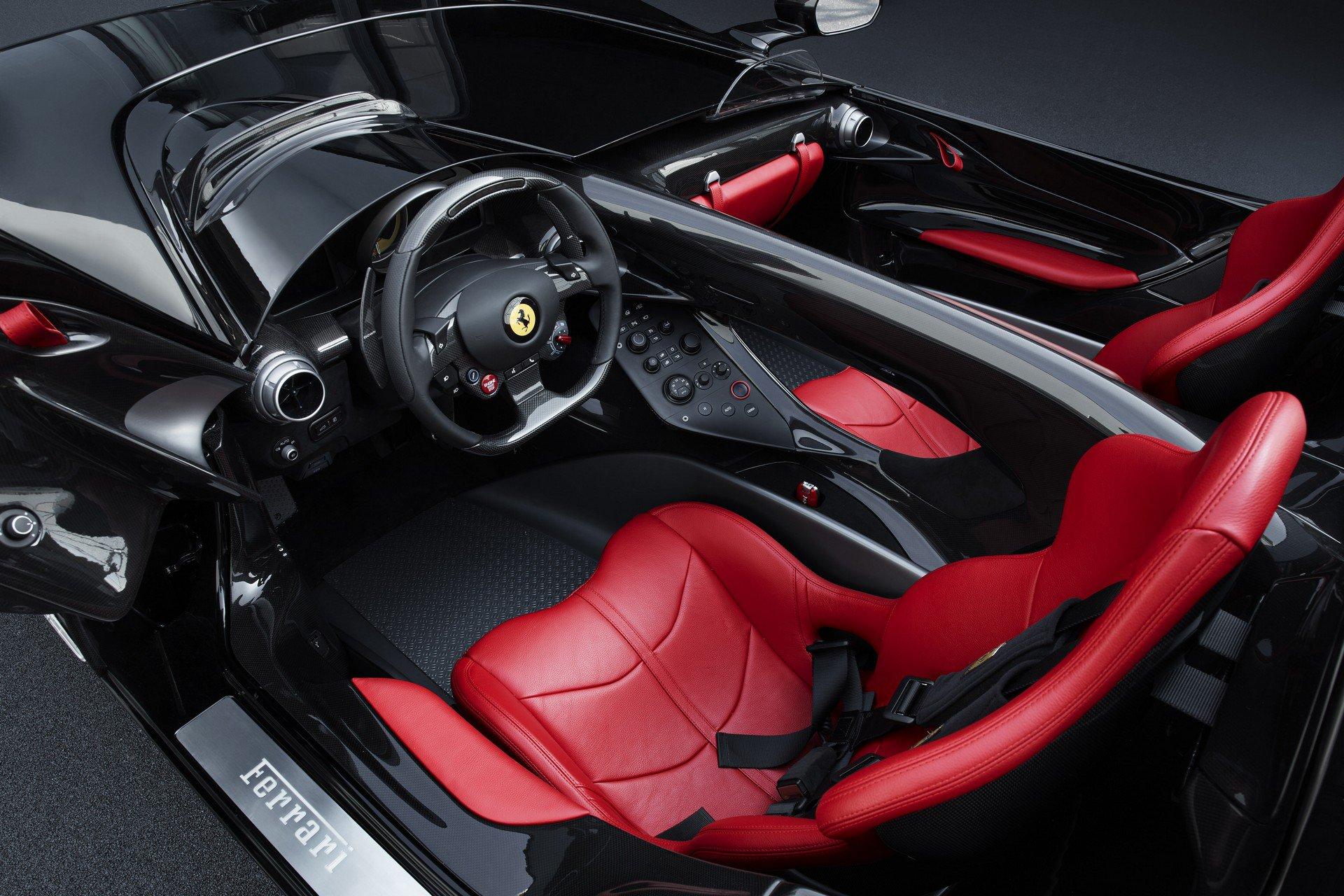Ferrari Monza SP2 cabin